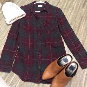 Thread and Supply plaid shirt